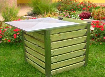 Come scegliere una compostiera da giardino for Casetta giardino fai da te