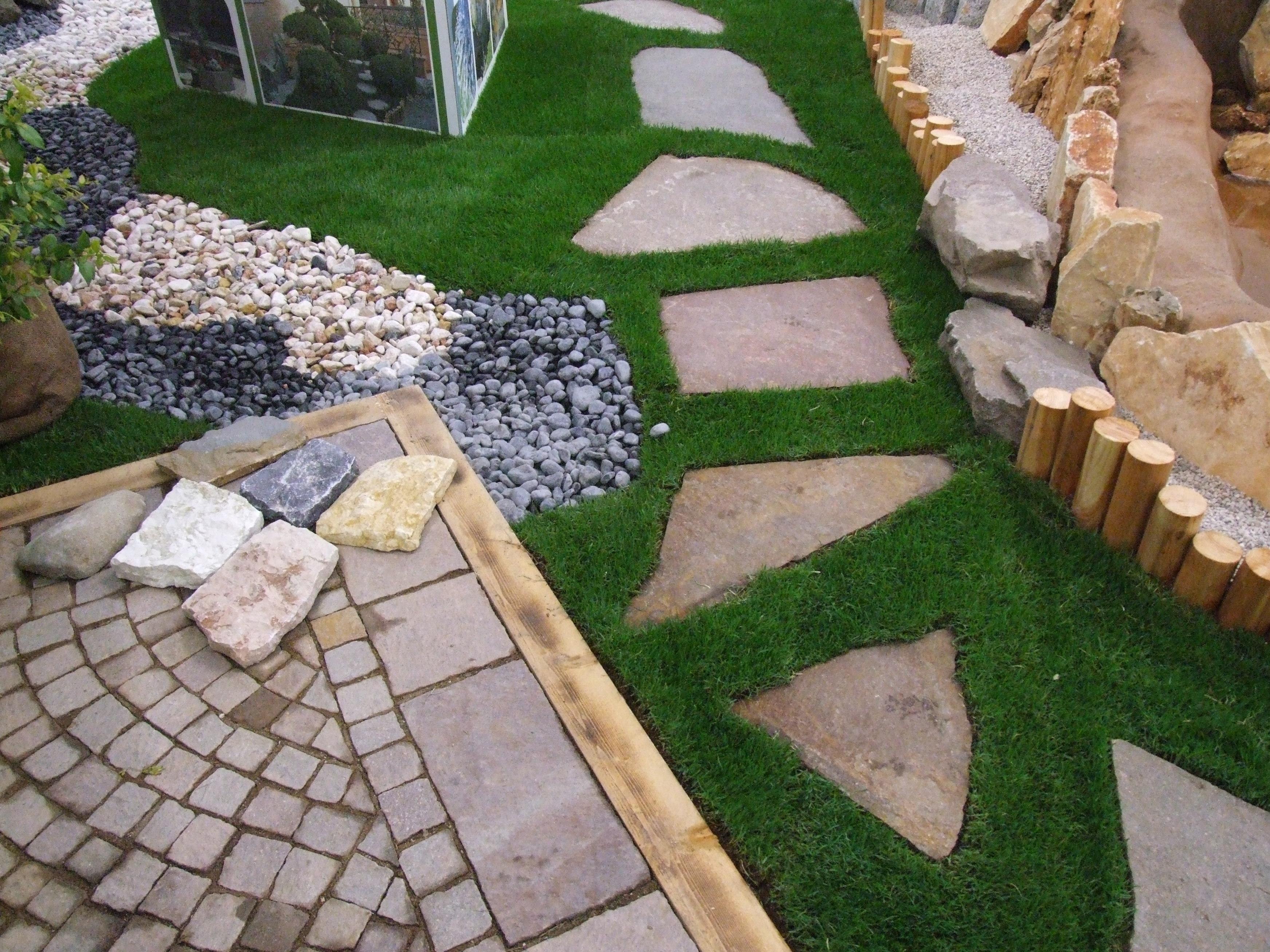 Arredare il giardino con sassi e pietre i consigli di for Sassi finti per giardini