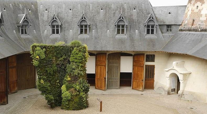 Patrick Blanc 1994 primo muro vegetale al Festival International des jardins de Chaumont-sur-Loire