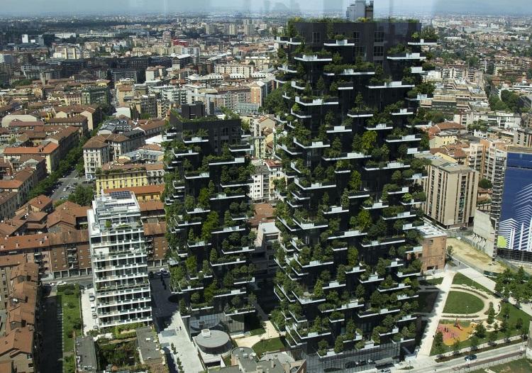 giardini verticali famosi bosco verticale milano