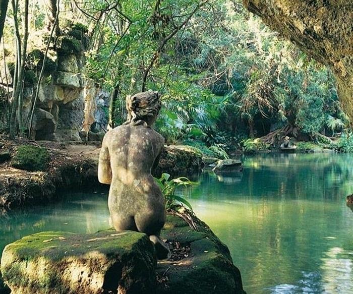 bagno di venere reggia di caserta giardino inglese