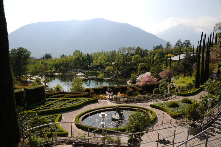 Giardini di sissi schloss Trauttmansdorff merano