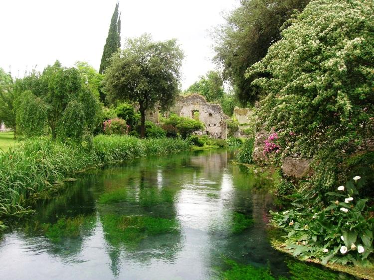 giardino di ninfa Semonera