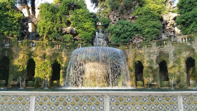 Giardino villa d'este tivoli