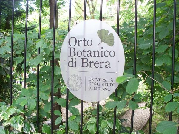 Orto Botanico di Brera Milano