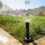 Irrigazione del prato, i vari metodi