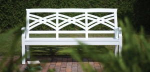 panchina giardino