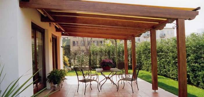 pergole e tettoie in legno