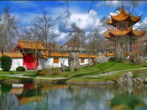 giardino cinese un paesaggio in miniatura