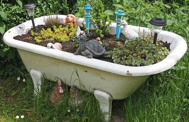 Idee originali per il giardino giardini nel mondo for Giardino idee arredi