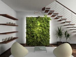giardini verticali interni soluzioni