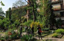 orto botanico milano brera